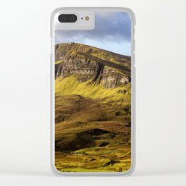Bellissimo Landscape Clear iPhone Case