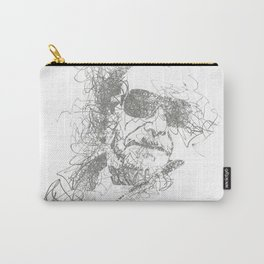 Bukowski - Pencil Scribble Carry-All Pouch