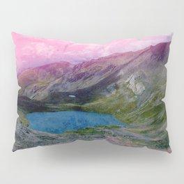 Pink Landscape and Lac Pillow Sham