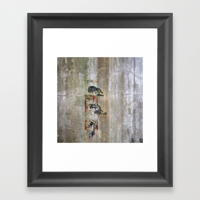 Stamp Framed Art Print