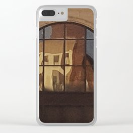 Reflections of Yesteryear Clear iPhone Case