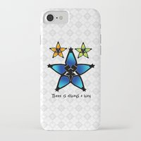 kingdom hearts iPhone & iPod Cases featuring Kingdom Hearts - Wayfinders by Lunil
