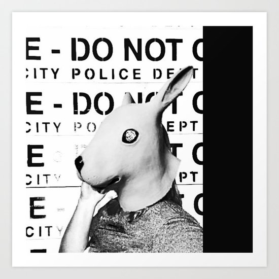 Land of No Rules Art Print