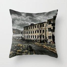 Henryton Hospital Throw Pillow