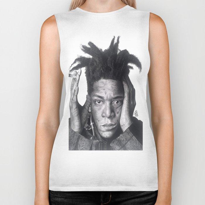 Jean-Michel Basquiat Drawing Biker Tank