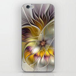 Abstract Fantasy Flower Fractal Art iPhone Skin