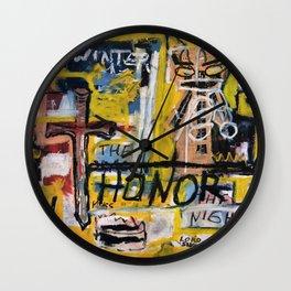 Winter Honor Wall Clock