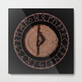 Thurisaz - Elder Futhark rune Metal Print