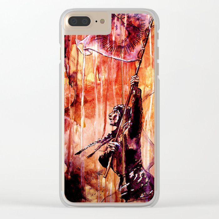 TELSE VAN KAMPEN Clear iPhone Case