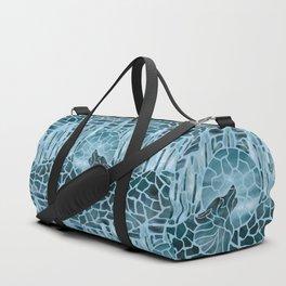 Moonlight Story (Light Blue) Duffle Bag