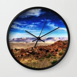 USA Arizona Rock Desert Nature canyons Sky Crag Cliff Canyon Wall Clock