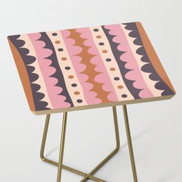 Rick Rack Candy Side Table