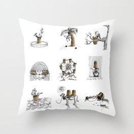 Thimbles Throw Pillow