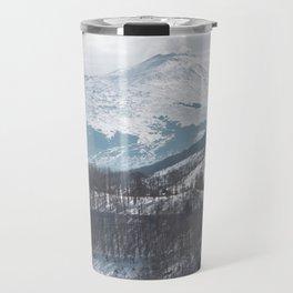 Etna volcano Travel Mug