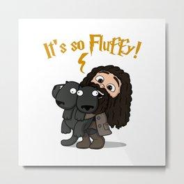 It's So Fluffy Metal Print