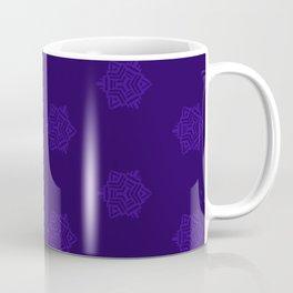 Snowflake I Purple Coffee Mug
