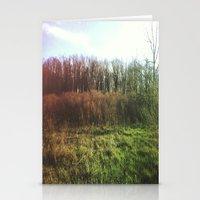 hiking Stationery Cards featuring Hiking Rainbow by Sabrina Elewa