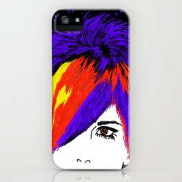 Ladies Hair iPhone Case