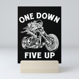 1 Down 5 Up Bad Rider Mini Art Print