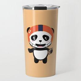 Football Panda with ball T-Shirt D9w5x Travel Mug