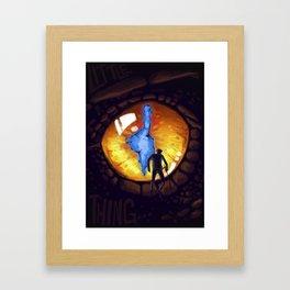 Little Thing Framed Art Print