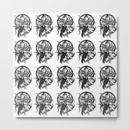 H P Lovecraft fanart Metal Print