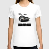 delorean T-shirts featuring Delorean exposed by SIMid