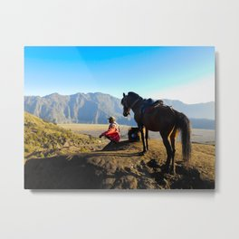 Mount bromo Indonesia Metal Print
