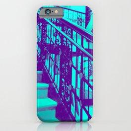 Grandeur - teal iPhone Case