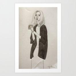 Angela Art Print