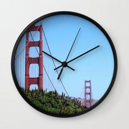 San Francisco Golden Gate Wall Clock