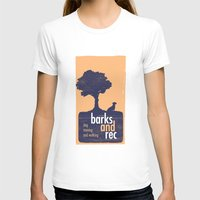 parks and rec T-shirts featuring Barks and Rec Logo by barksandrec