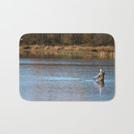 Gone Fishing 2 Bath Mat