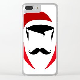 Doctor Christmas Clear iPhone Case
