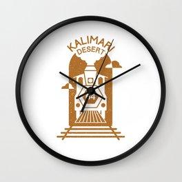 Kalimari Desert (Mario Kart 64) Wall Clock