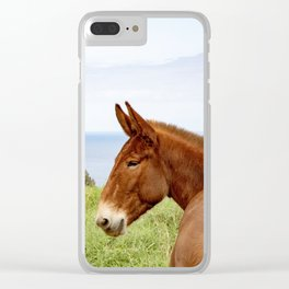 Hawaii loves horses Clear iPhone Case
