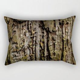 Old Wood Close up Rectangular Pillow