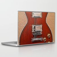 the wire Laptop & iPad Skins featuring Live Wire by Eric Rasmussen