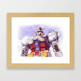 Gundam RX-78-2 Framed Art Print