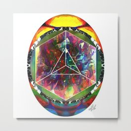 Cosmic Egg Metal Print