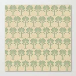 Bay Leaf Spice Moods Palm Canvas Print