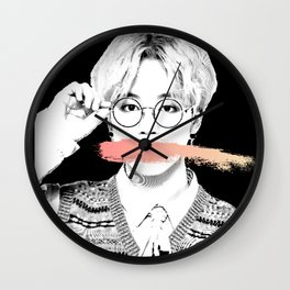 bts jimin Wall Clock