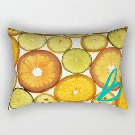 Citrus - Citron (Recettes du Bonheur) Rectangular Pillow