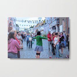 acting in the streets Metal Print