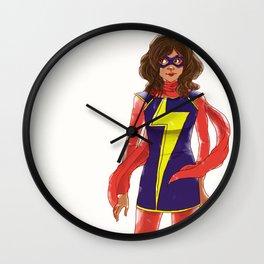 kamala khan  Wall Clock
