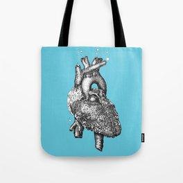 Reef heart Tote Bag