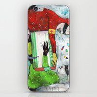 pills iPhone & iPod Skins featuring Pills by Franck Chartron