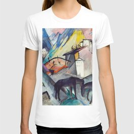 "Franz Marc ""The Unfortunate Land of Tyrol"" T-shirt"