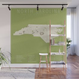 North Carolina Golf Courses Wall Mural