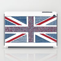 uk iPad Cases featuring Lovely UK by Anita Ivancenko